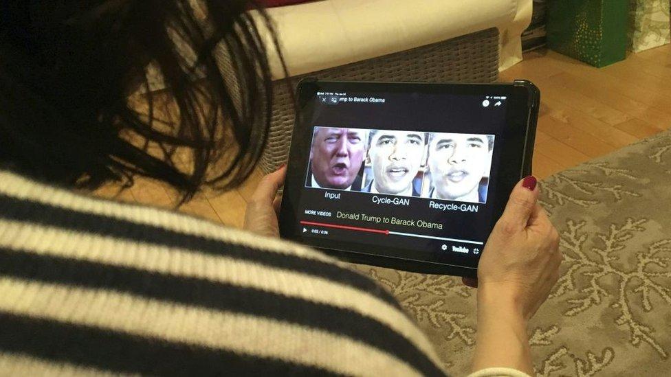 Deepfakes de Trump y Obama