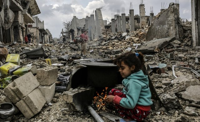 The conflict in Syria has devastated many parts of the country, including here in Kobane