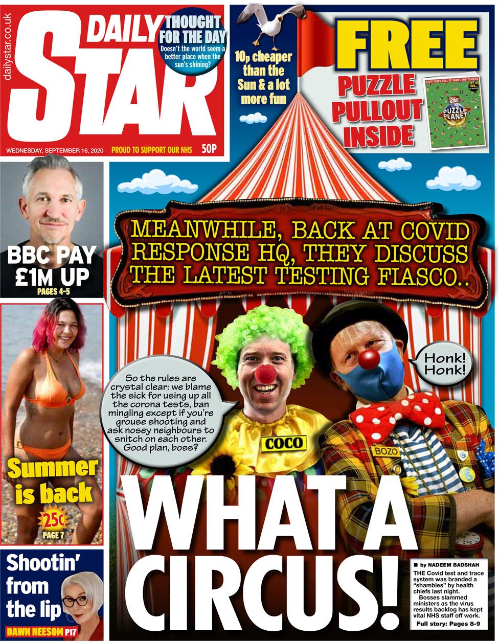 Daily Star 16 September