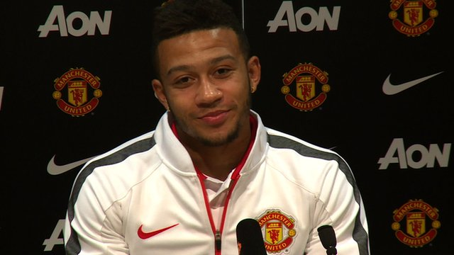 'A dream come true' for Manchester United new signing Memphis Depay
