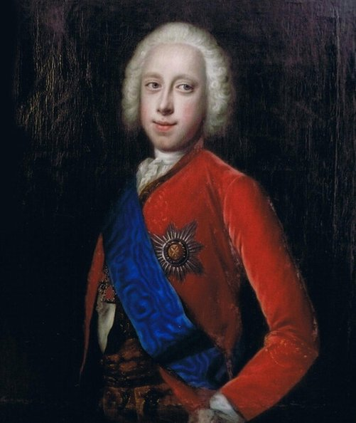 Pedro III, zar de Rusia.