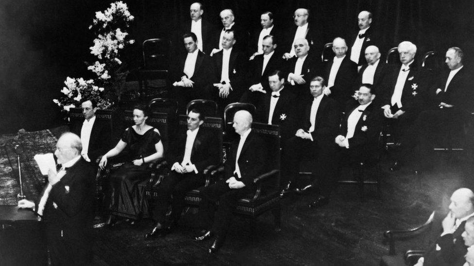 Ganadores del Nobel de 1935
