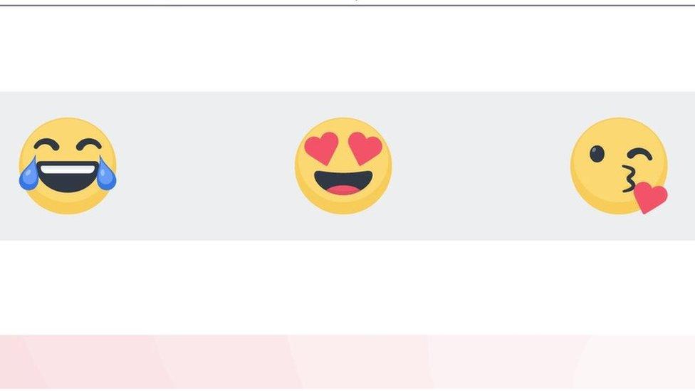 Los emojis más usados en Facebook y Messenger