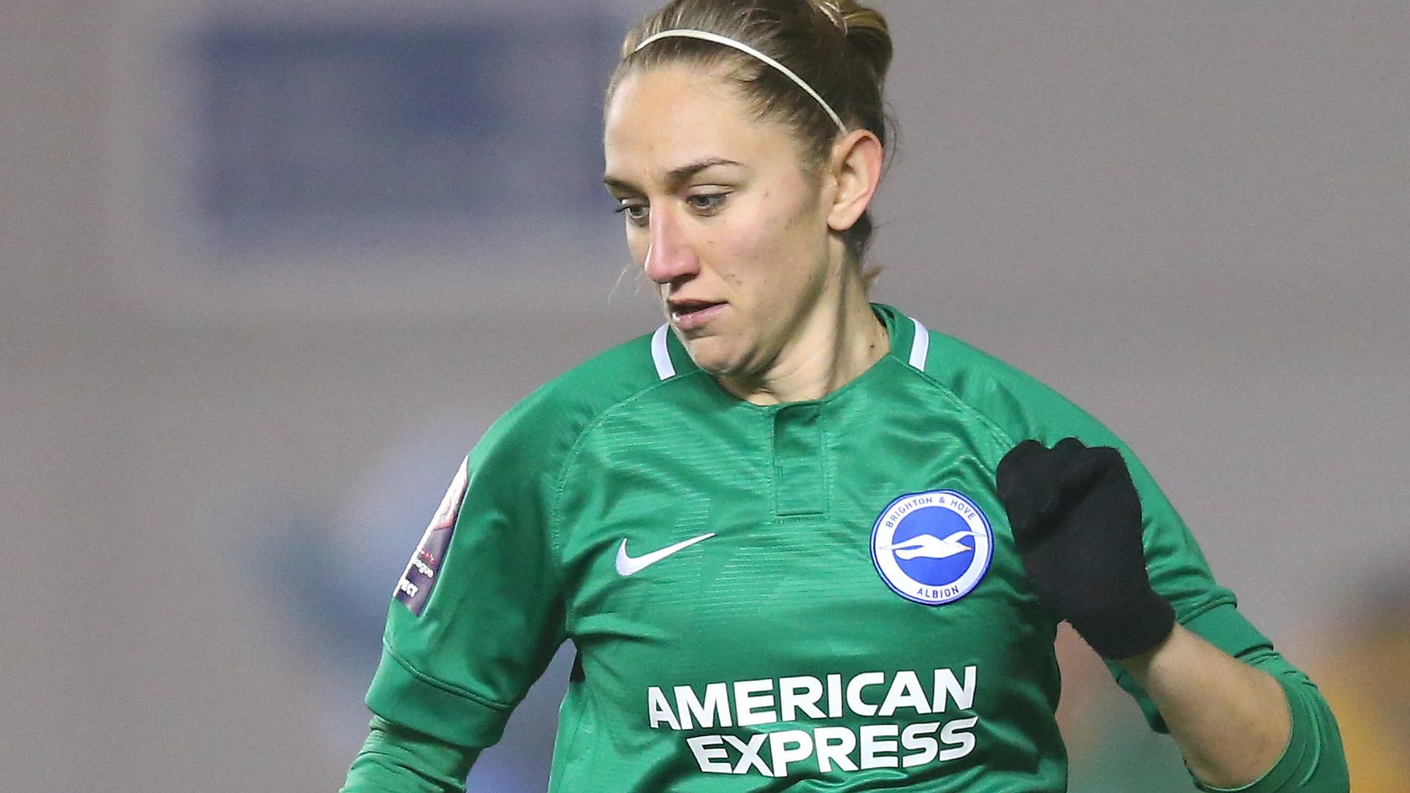 Brighton & Hove Albion Women 0-0 Everton Ladies: Aileen Whelan comes closest for Brighton