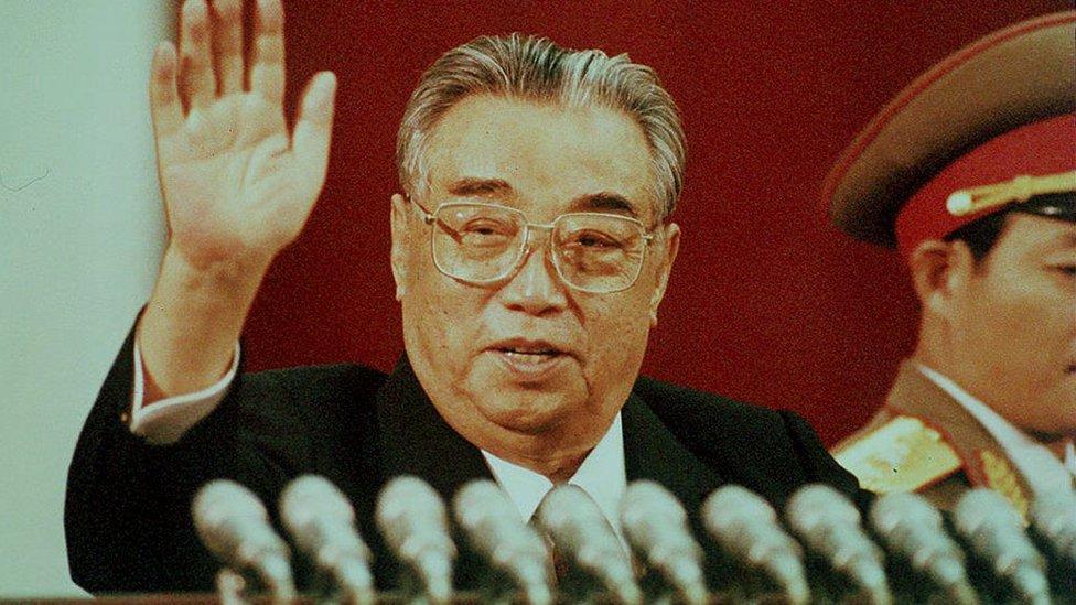Kim Il-sung in 1992