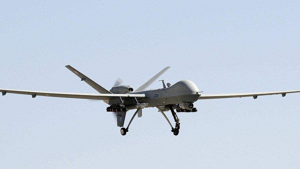 RAF Reaper drone in 2013