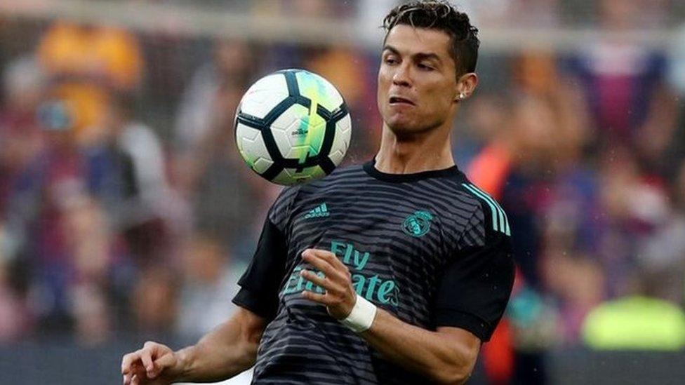 Ronaldo procura mantener sus rutinas exitosas.