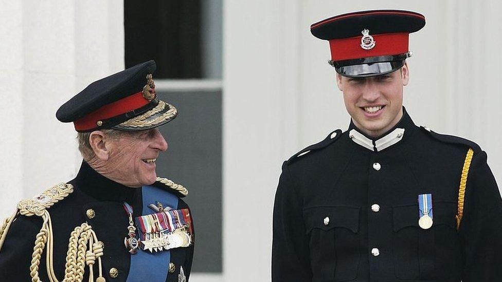 Pangeran Philip dan Pangeran William