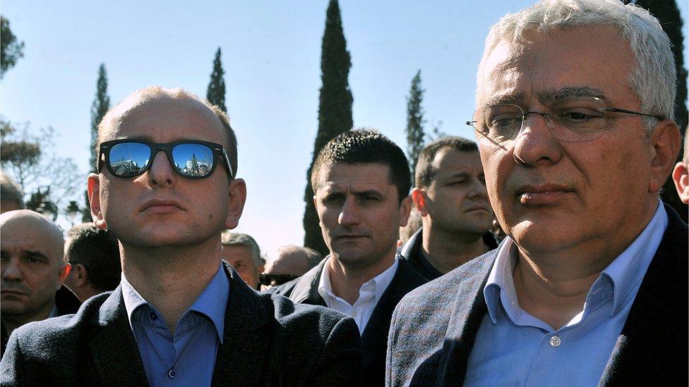 Mandić i Knežević, Podgorica, 15. februar 2017.