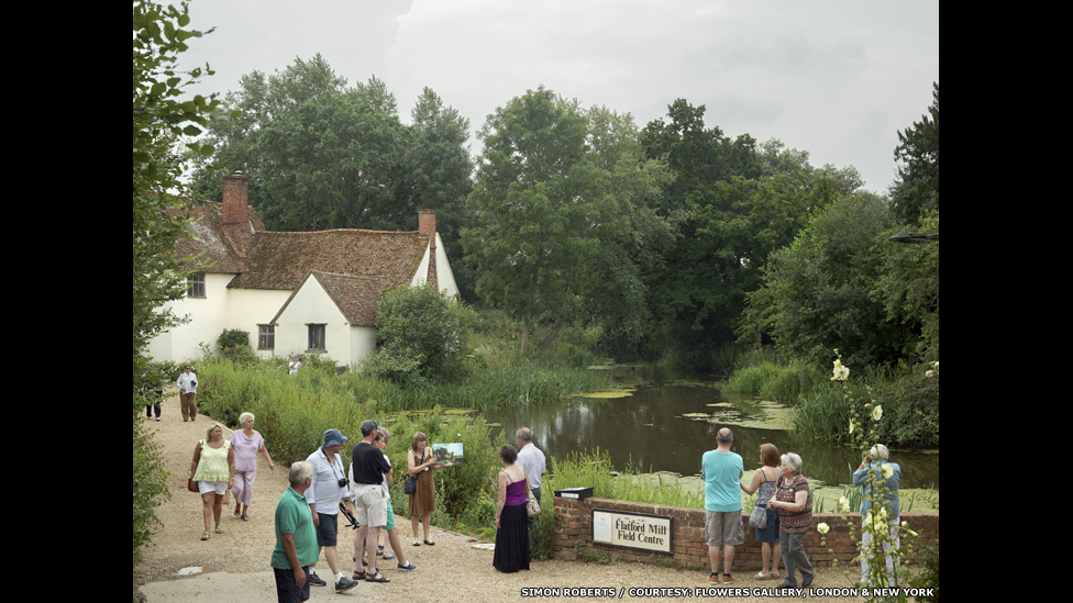 Willy Lott's House at Flatford, East Bergholt, Suffolk, 20 July 2014