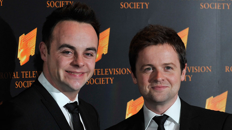 Ant and Dec at the 2010 RTS Awards