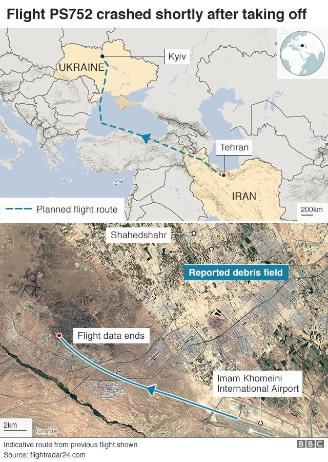 Iran plane crash: Victims' families to get $150,000 thumbnail