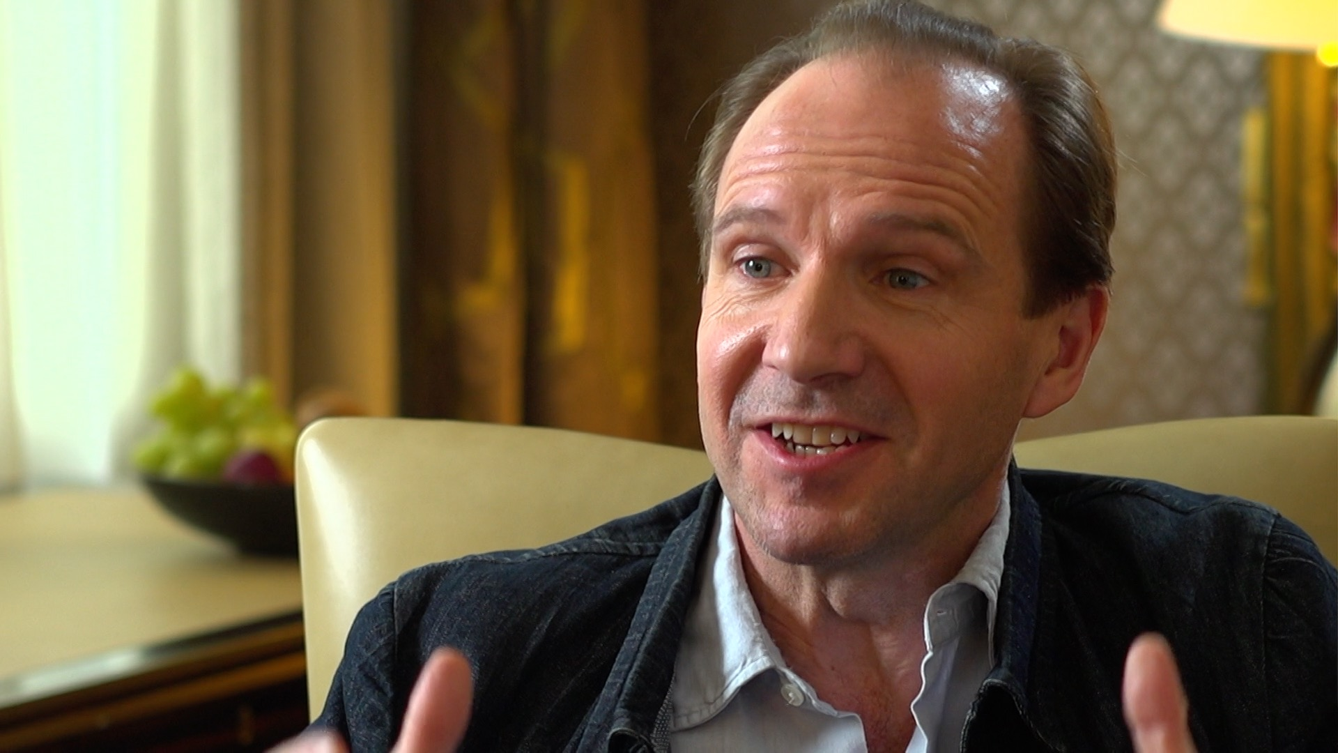 Ralph Fiennes: 'I'd like to see a black actor in a Bond-like persona'