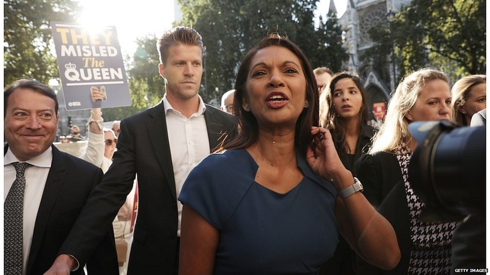 Businesswoman and anti-Brexit campaigner Gina Miller