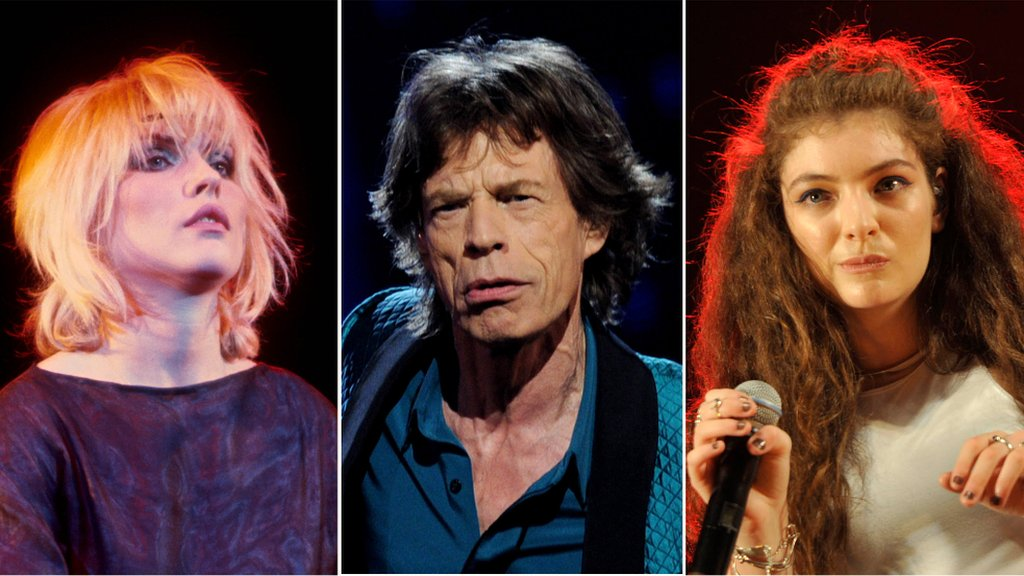 BBC News - Mick Jagger and Lorde urge politicians to get permission for campaign songs