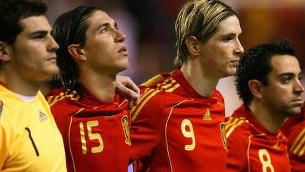 Seis de los jugadores españoles que conformaban la selección al inicio del Mundial 2010 pertenecían al Barcelona FC.