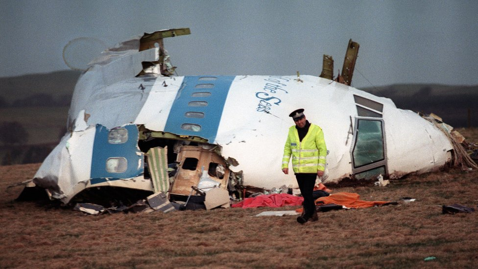 Lockerbie bombing: Alleged bomb-maker charged on 32nd anniversary of attack thumbnail