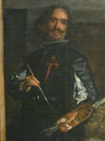 """Diego Velázquez en """"Las Meninas""""."""