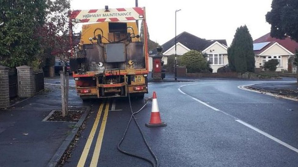 Windsor double yellow lines 'error' removed