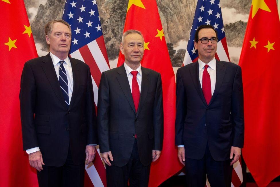 عقد مسؤولون أمريكيون وصينيون العديد من جولات المحادثات في محاولة لإبرام اتفاق ينهي الحرب التجارية