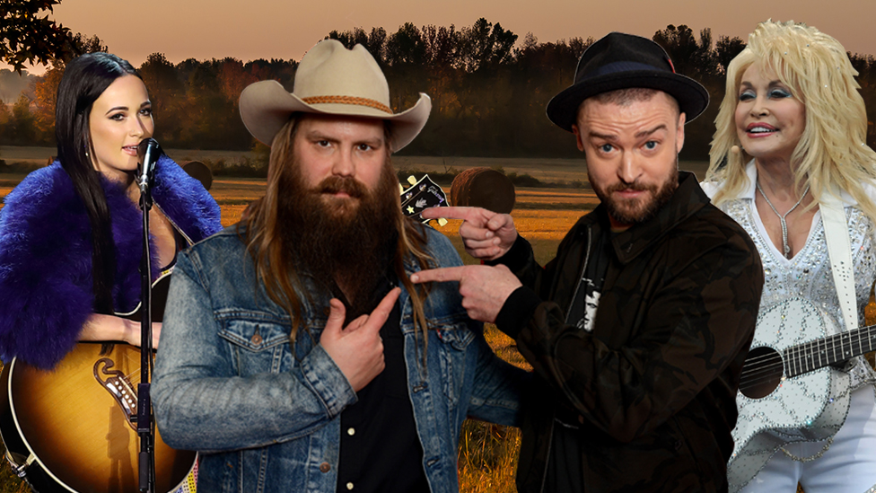 BBC News - How country stars Kacey Musgraves and Chris Stapleton cracked Radio 1