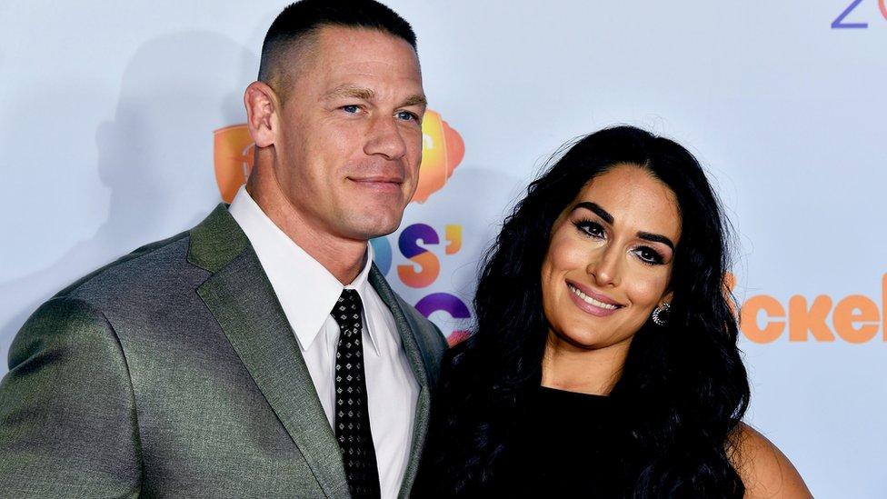 WWE stars John Cena and Nikki Bella announce split