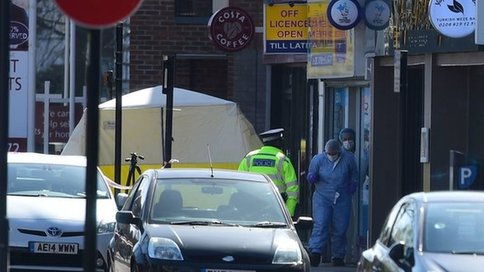 Pinner stabbing: Shop worker killed during robbery