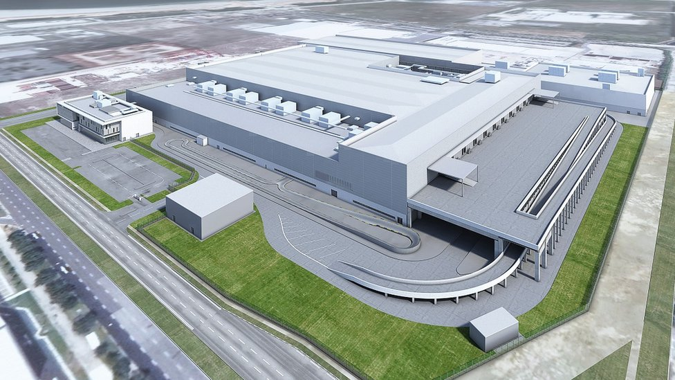 Artist's impression of Dyson's Singapore plant