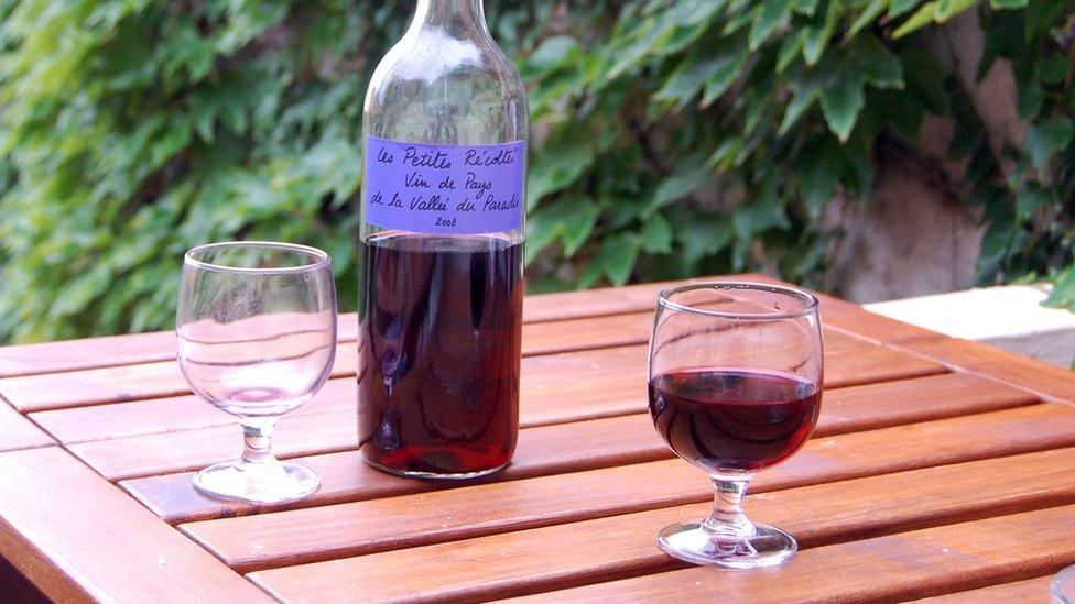 Francusko vino.