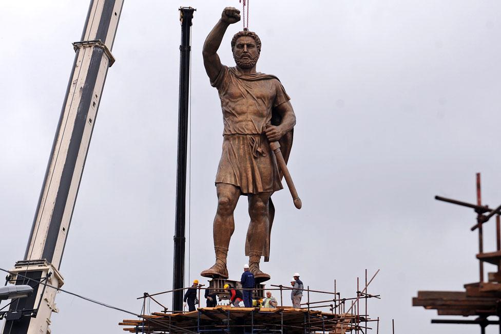 Statue of Philip of Macedonia