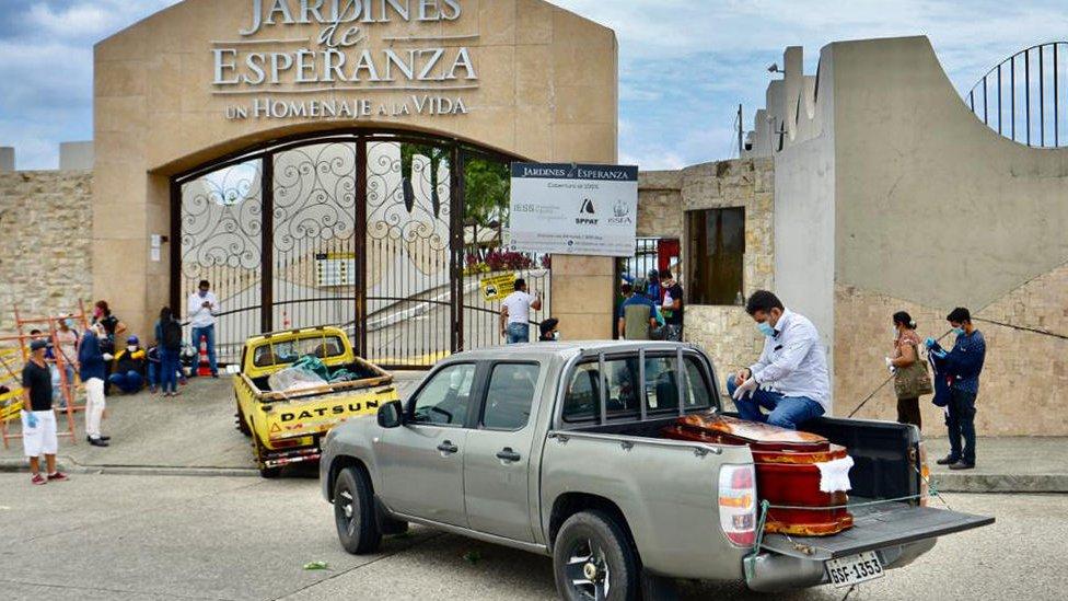 Enterramientos en Guayaquil.