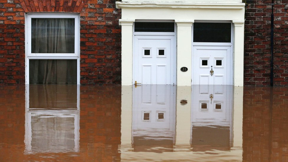 Storm Desmond: Cumbria residents complain of broken flood doors