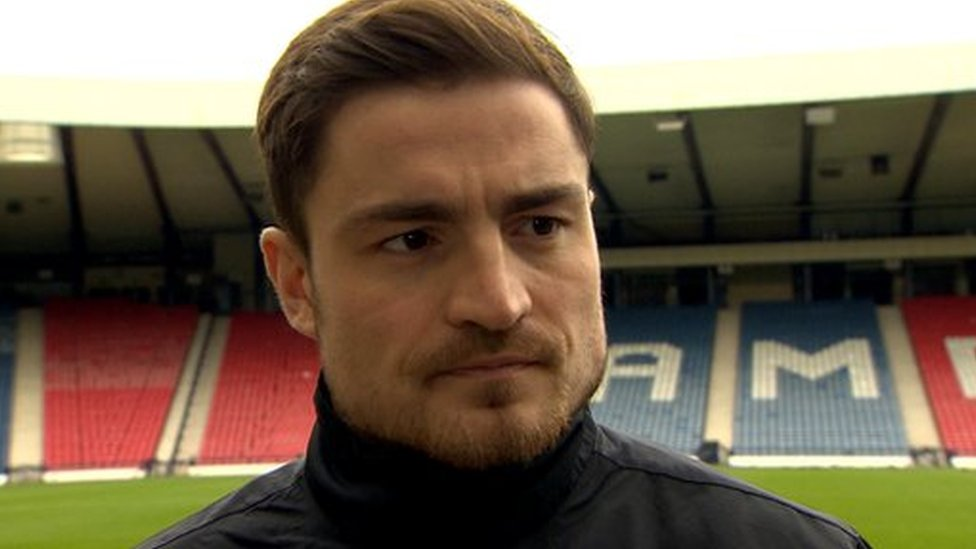 Dundee United's Paul Paton