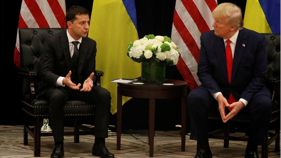 Volodimir Zelenski y Donald Trump en la Casa Blanca