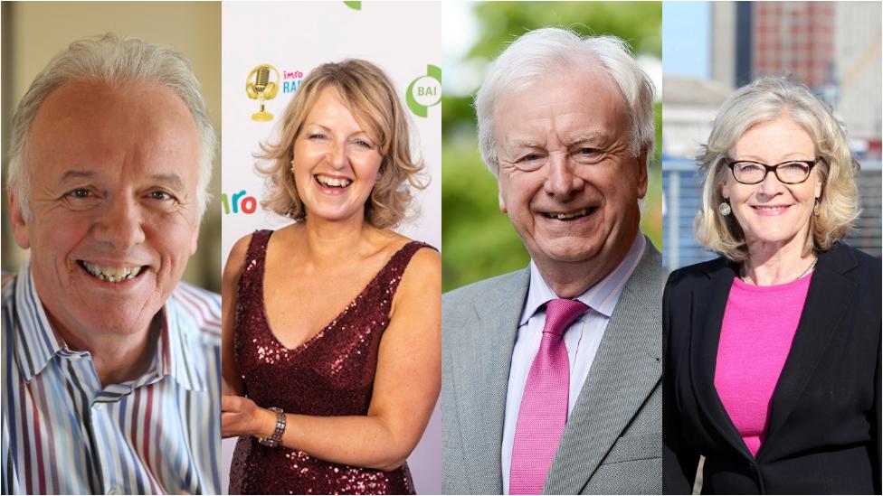 Noel Thompson, Karen Patterson, Seamus McKee, Wendy Austin