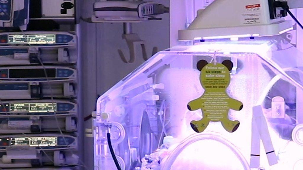 Inside a neonatal intensive care unit