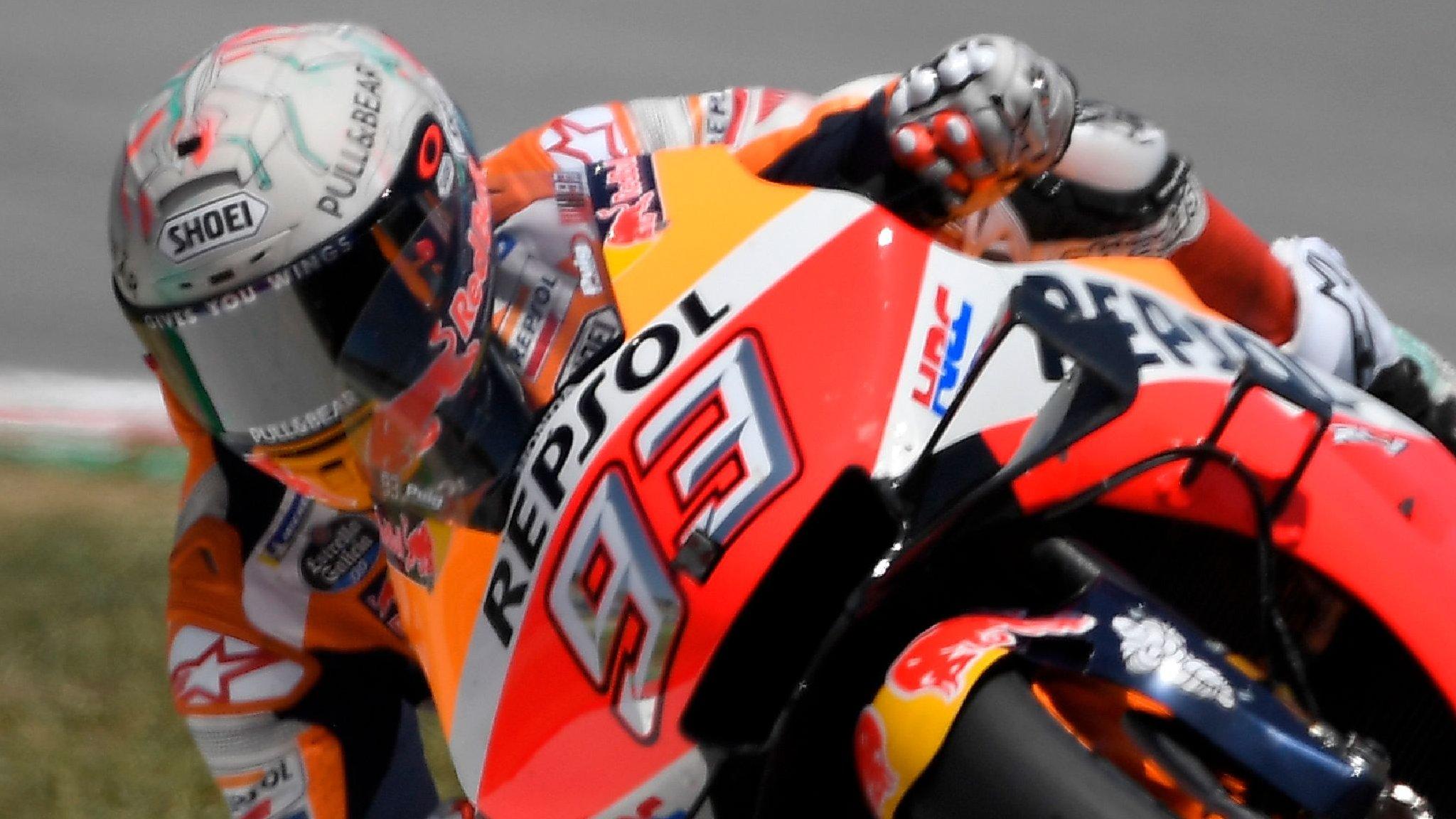 MotoGP: Marc Marquez wins Catalunya Grand Prix after rivals crash