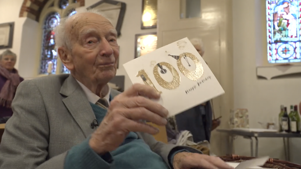 Meet Dennis Brock - the bell ringer still working aged 100