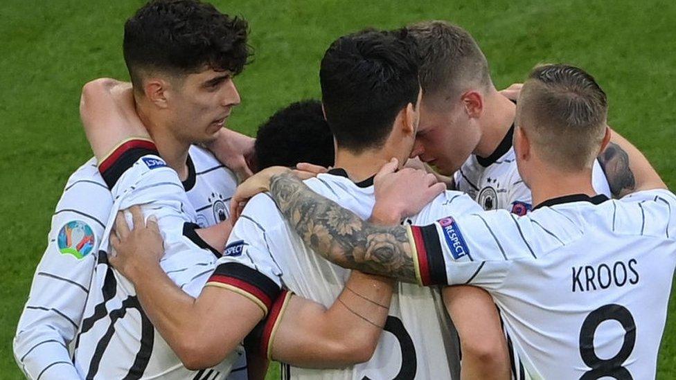 Germany score