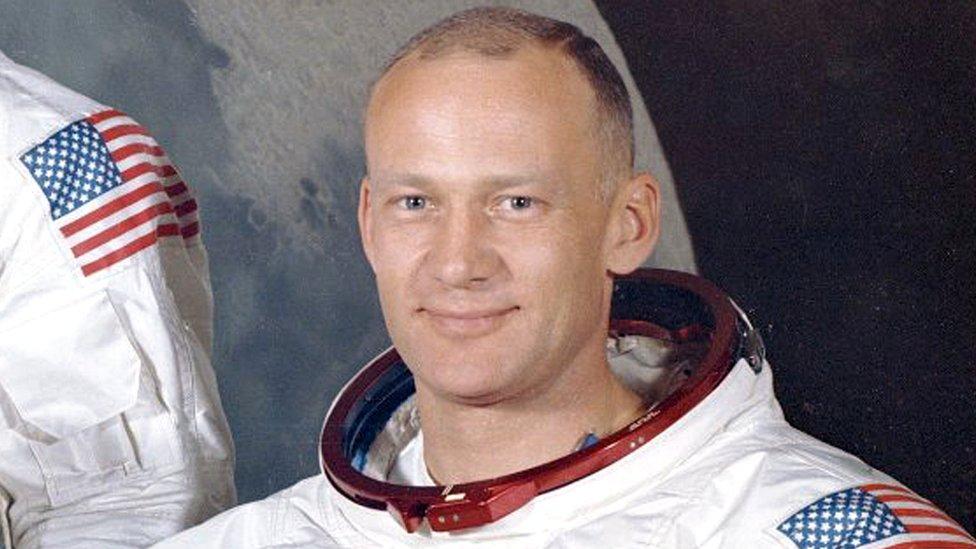 Astronaut Baz Oldrin