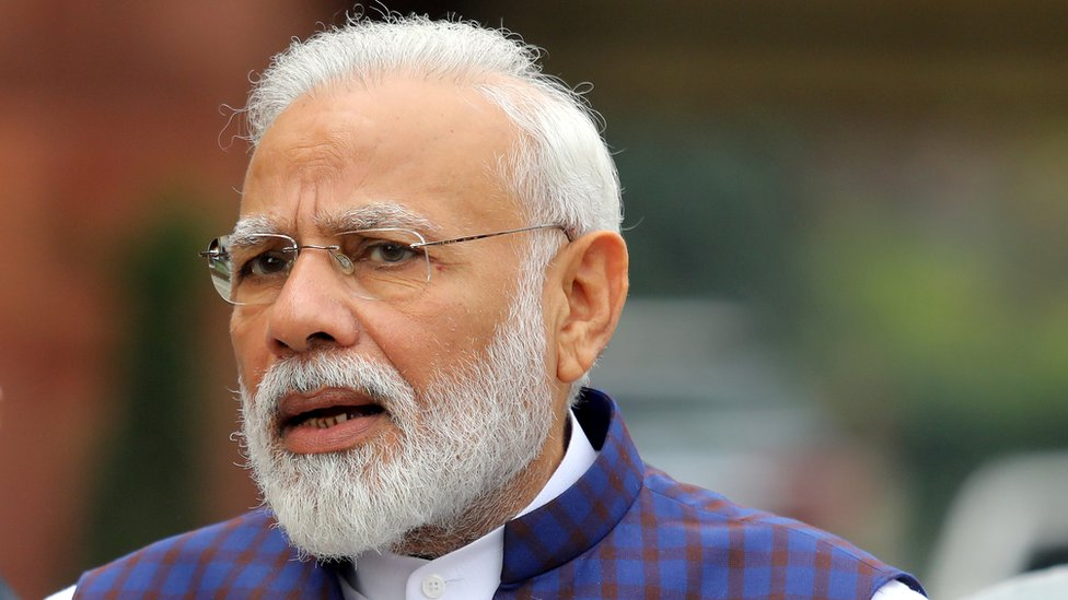 Indian Prime Minister Modi Twitter account hacked - BBC News