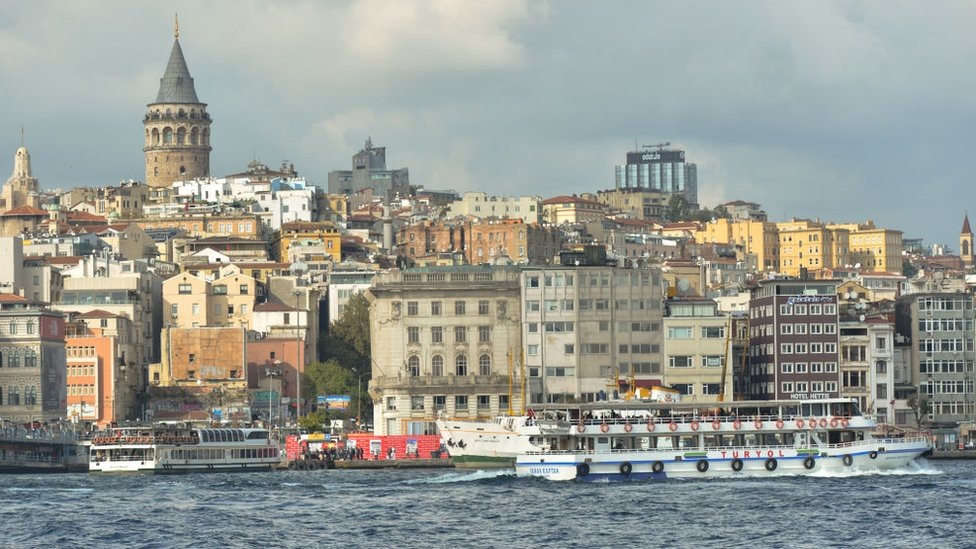 El control del Bósforo otorga a Turquía una posición geográfica estratégica.