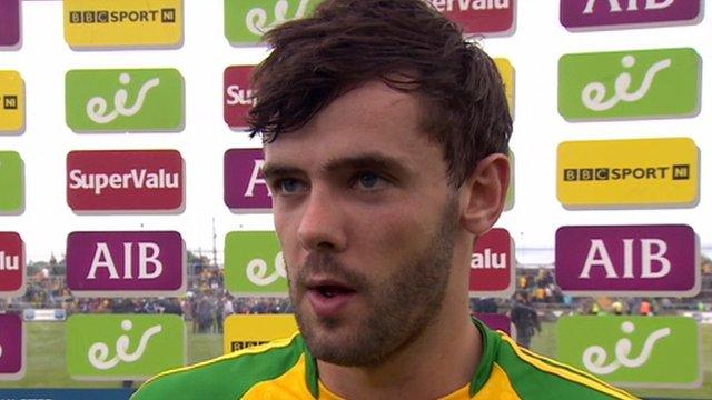 Man of the match Odhran MacNiallais