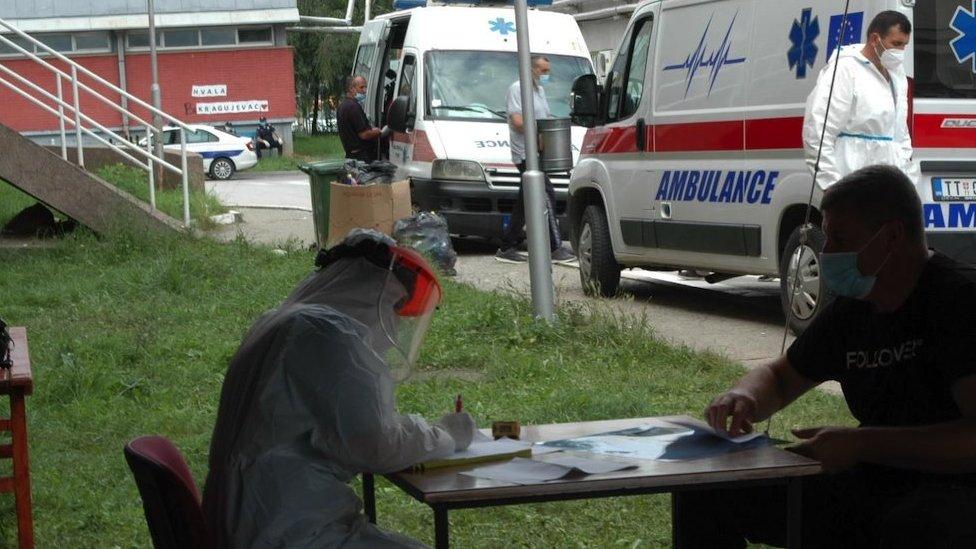 Kovid ambulanta u Novom Pazaru
