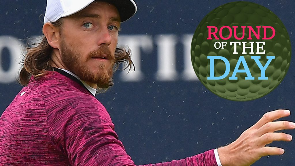 The Open 2018: England's Tommy Fleetwood cards 'round of the day' 65
