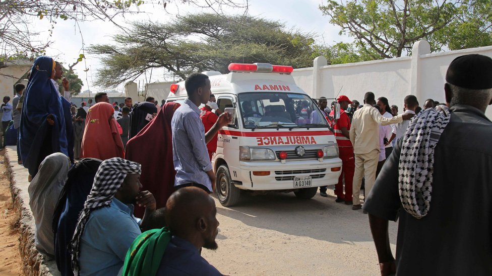 سيارة إسعاف في العاصمة الصومالية، مقديشو