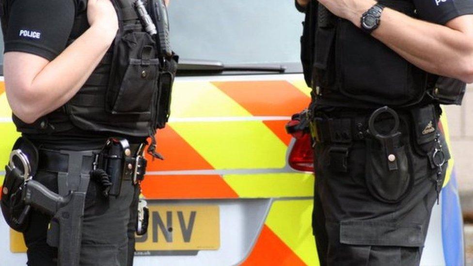 Armed police target West Lothian villages in organised crime raids