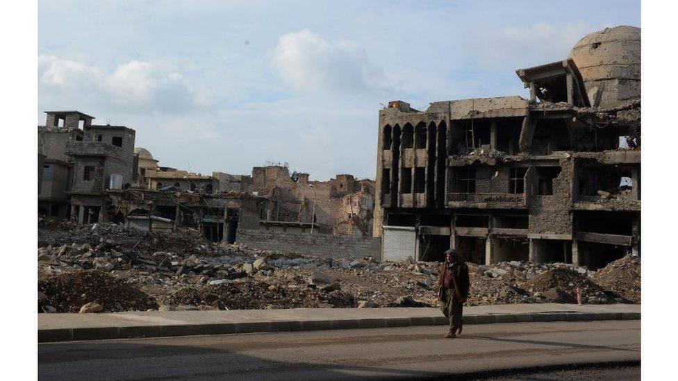 خطر ألغام تنظيم الدولة الإسلامية يهدد سكان الفلوجة