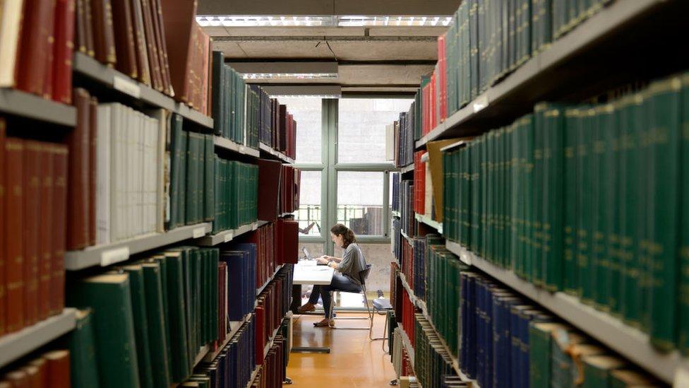 Biblioteca de la Universidad de Sao Paulo