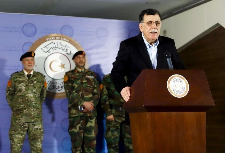 Libya Ulusal Mutabakat Hükümeti Başbakanı Fayiz Serrac